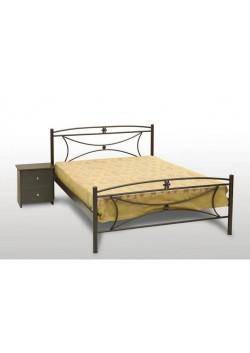 Μεταλλικό κρεβάτι Μαργαρίτα
